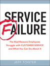Service Failure (MP3): The Real Reasons Employees Struggle with Customer Service and What You Can Do About It
